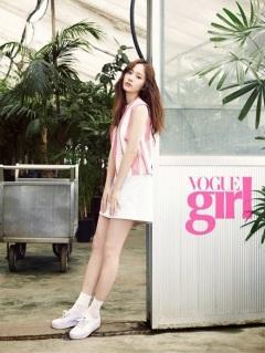 Majalah Vogue Girl Rilis Photo Krystal f(x)