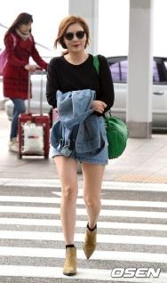 Cantiknya HyunA 4Minute Ketika Akan Berangkat Ke Hong Kong