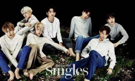 GOT7 majalah Single Januari (1)