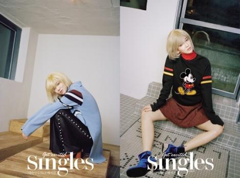 Hyoyeon SNSD Terlihat Menawan Di 'Singles' (1)
