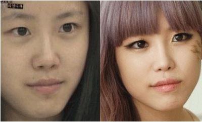 Jun Hyo Seong SECRET tanpa make up