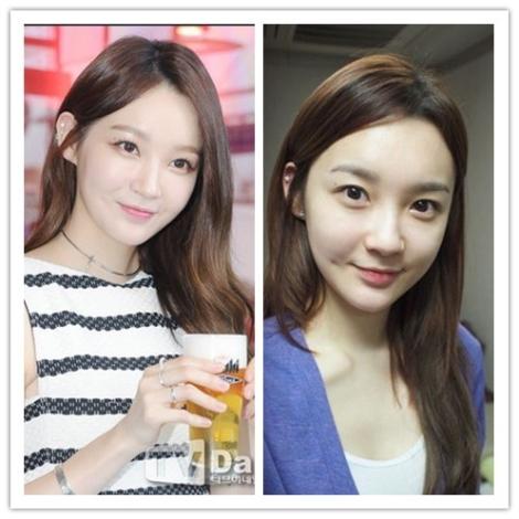 Kang Min Kyung DAVICHI tanpa make up