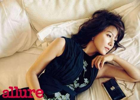 Kim Hee Ae Dalam Majalah 'allure' Januari (1)