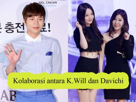 Kolaborasi antara K.Will dan Davichi
