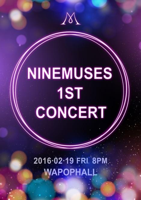 Nine Muses Akan Konser Pertama Bulan Februari Tahun Depan
