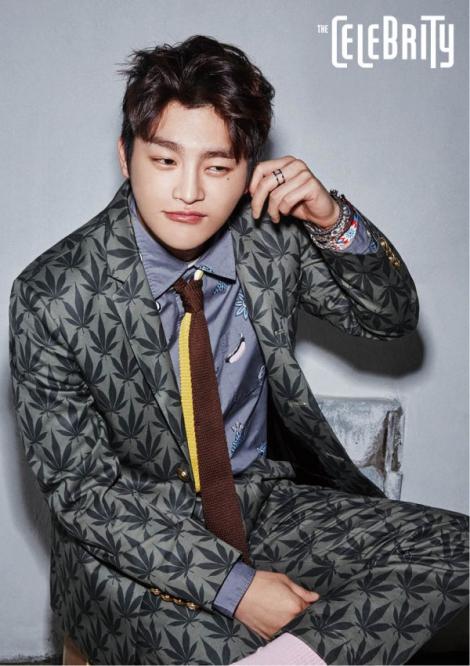 Seo In Guk Dalam Majalah 'The Celebrity' Januari (3)