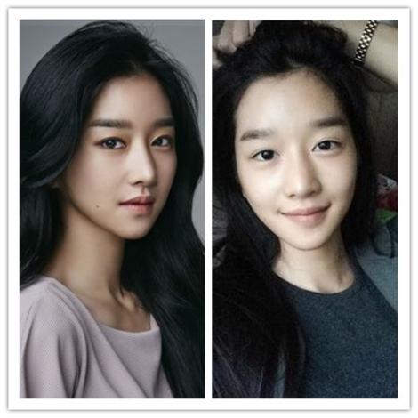 Seo Ye Ji tanpa make up