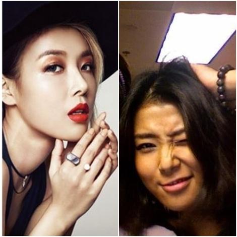 Yubin Wonder Girls tanpa make up