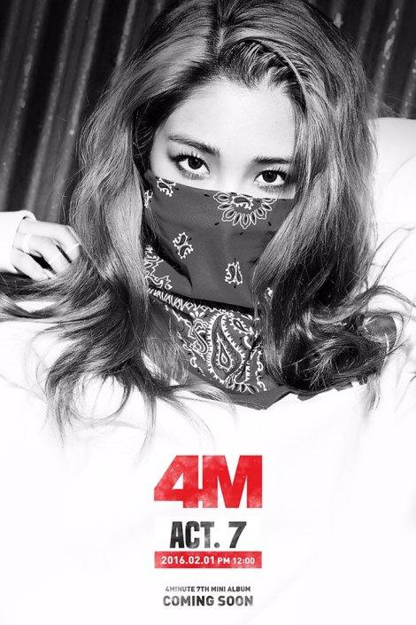 4Minute Gambar Teaser ACT (2)
