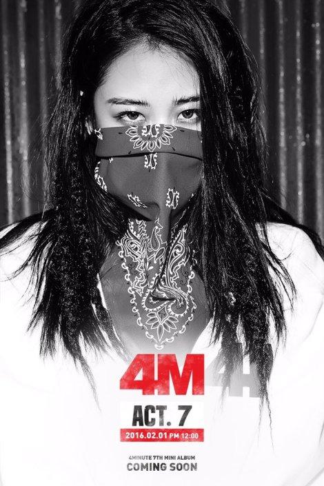 4Minute Gambar Teaser ACT (3)