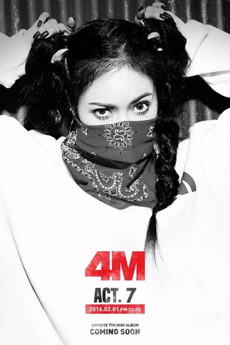 4Minute Gambar Teaser ACT (5)