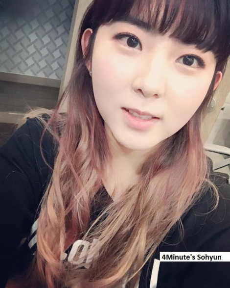 4Minute's Sohyun
