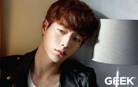Aktor Seo Kang-joon Majalah Geek Februari (2)