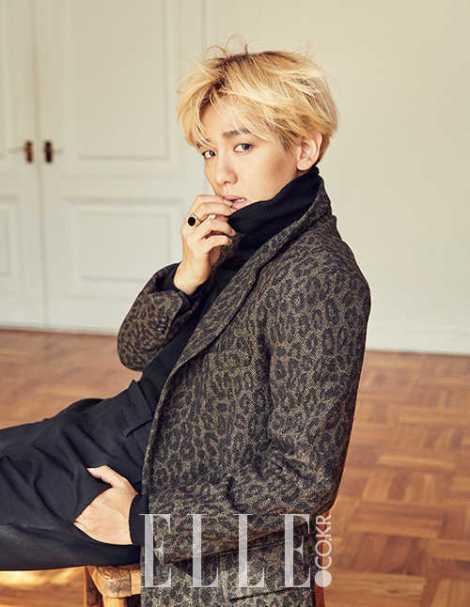 Baekhyun EXO Majalah ELLE (1)