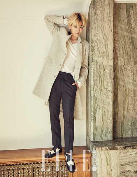 Baekhyun EXO Majalah ELLE (2)