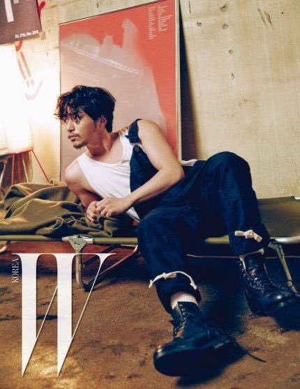 Byun Yo Han Majalah W Korea Februari (2)