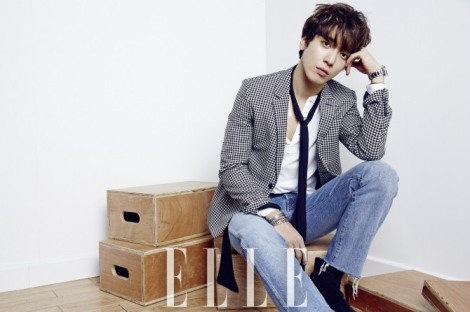 CNBLUE's Jung Yong-hwa for Elle China Magazine (1)