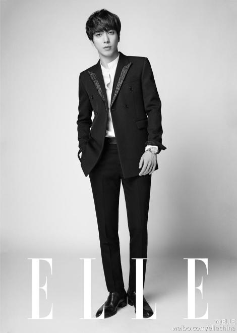 CNBLUE's Jung Yong-hwa for Elle China Magazine (5)