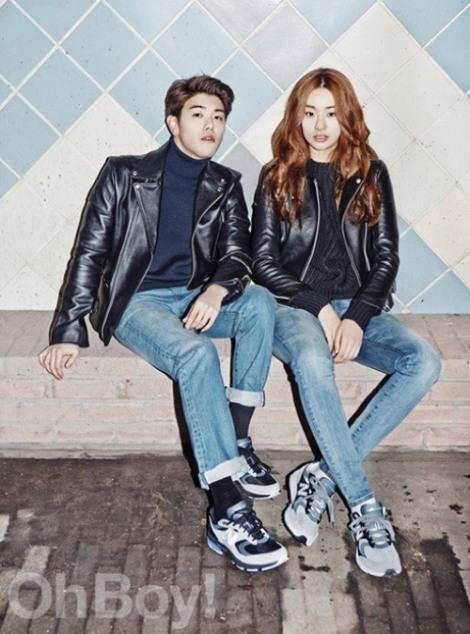 Eric Nam dan Stephanie Lee (OhBoy!)