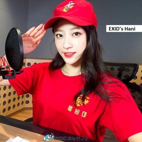 EXID′s Hani: Tidak ada yang takut lagi dengan tentara jika tentaranya seperti kamu, Hani