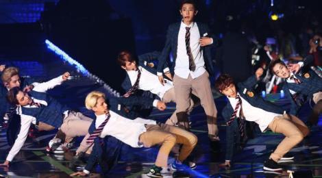 EXO Saat Tampil di Seoul Music Awards