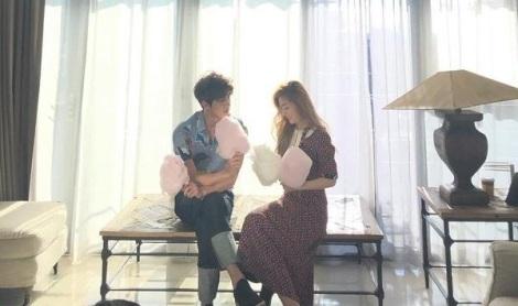 Foto Mesra Sehun EXO dan Irene Red Velvet