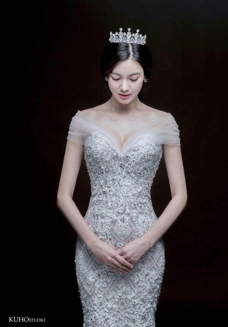 Foto Pernikahan Jeong Ga Eun (2)