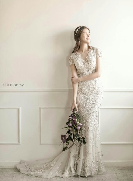 Foto Pernikahan Jeong Ga Eun (4)