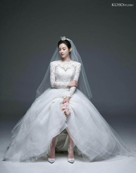 Foto Pernikahan Jeong Ga Eun (8)