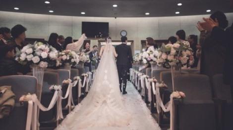 Foto Pernikahan Jung Woo dan Kim Yoo-mi (1)