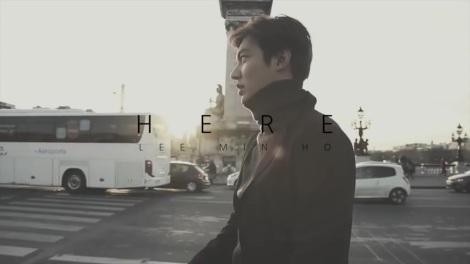 Gambar Lee Min-ho I Was Here, I Am Here (1)