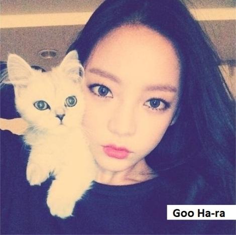 Goo Ha-ra, mantan anggota kelompok KARA