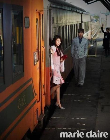 Ha Ji-won Majalah Marie Claire Februari (3)