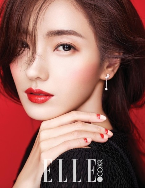 Han Chae Young Majalah ELLE Februari (1)