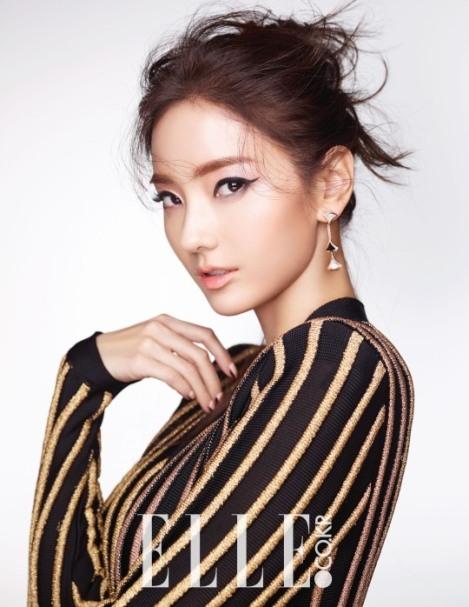Han Chae Young Majalah ELLE Februari (2)