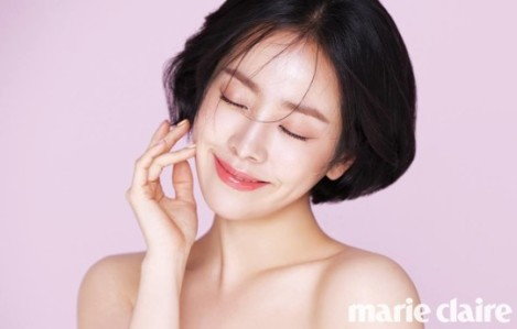 Han Ji-min Marie Claire Januari (1)