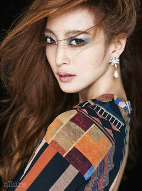 Han Ye Seul Majalah Allure Januari (1)