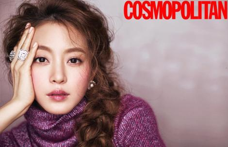 Han Ye Seul Majalah COSMOPOLITAN Februari (2)