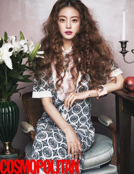 Han Ye Seul Majalah COSMOPOLITAN Februari (3)