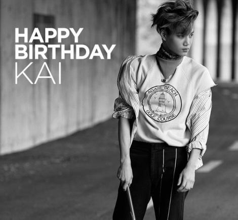 Happy Birthday Kai EXO