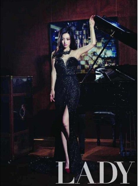 Hong Soo Ah Di Majalah Lady Kyunghyang (5)