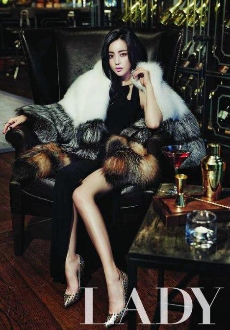 Hong Soo Ah Di Majalah Lady Kyunghyang (6)