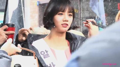 Hyeri Albamon CF Making 11