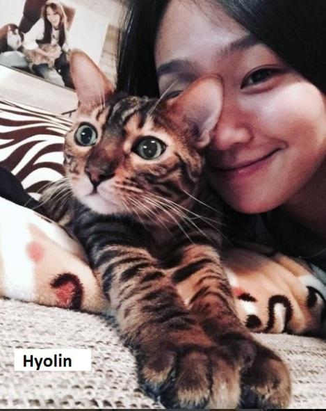 Hyolin, anggota kelompok SISTAR