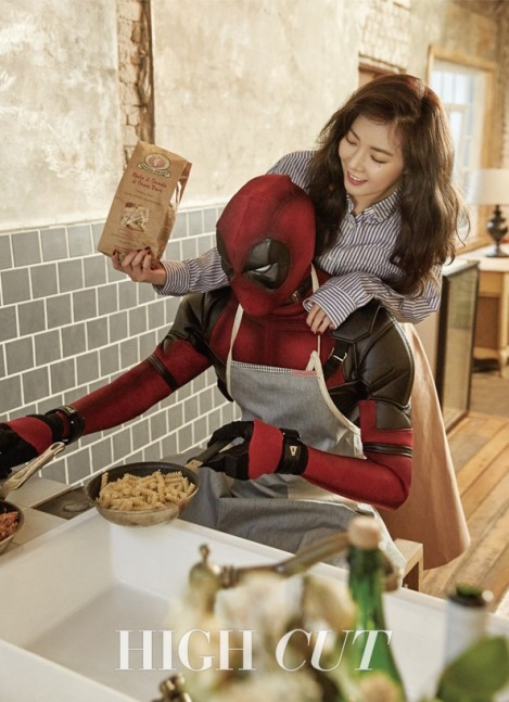 Hyuna 4Minute Menikahi Deadpool (2)