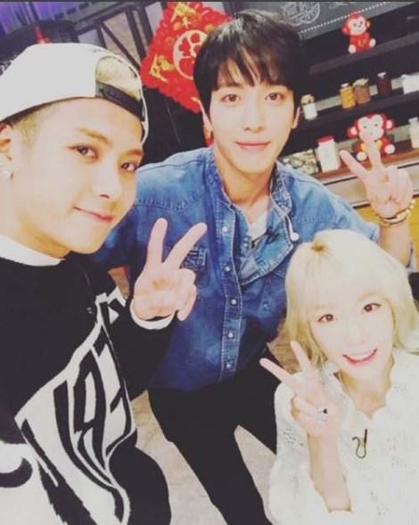 Jackson, Taeyeon dan Yonghwa