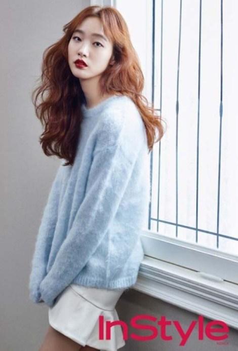 Kim Go-eun Majalah Style (1)