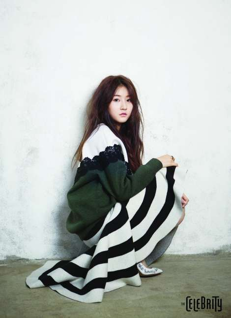 Kim Sae-ron for Magazine The Celebrity February (2)