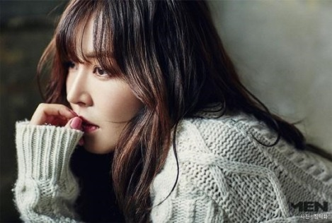 Kim So-yeon Majalah Noblesse Men Januari2