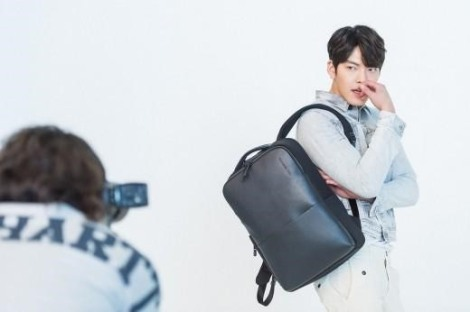 Kim Woo Bin untuk Samsonite Red (1)